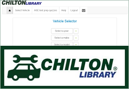 Screenshot of Chilton Library