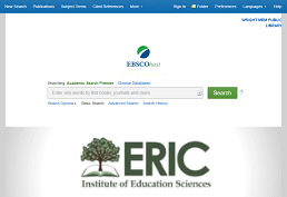 Search ERIC database
