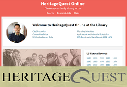 Search HeritageQuest