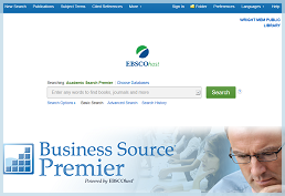 Use Business Source Premier