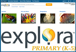 Use Explora for Primary grades