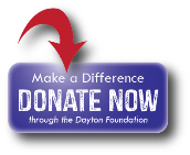 Donate now button make a difference through the dayton foundation